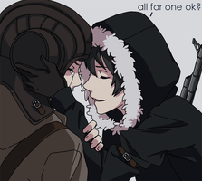 PavelArtyom - All for one by artemis-girl