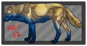 Life's A Beach / wolf adoptable ( OPEN ) by gothams--reckoning