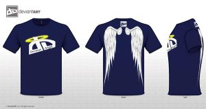 Devious Angel T-Shirt by Nomad55