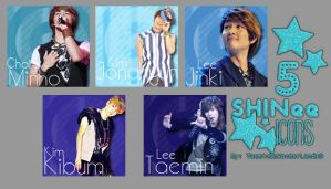 SHINee Icons by TaeminInWonderlandxD