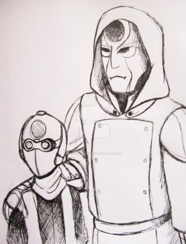 Amon and his spy by TheTale-Of-Rabiah
