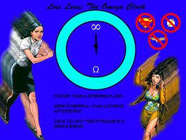 Lois Lane Is The Omega Clock by moonrakerone