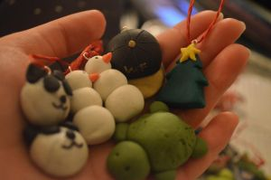 Polymer Clay Creations by TheBoomPow