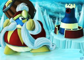 King Dedede in Iceberg by Evanatt