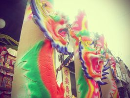 Chinese dragon candle melaka 2 by Lemongraphic