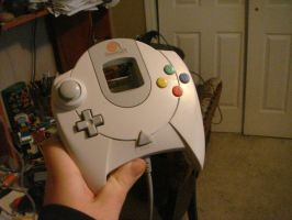 the Sega dreamcast controller by GeekGemLadiesman11