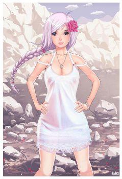 White dress by KaranaK