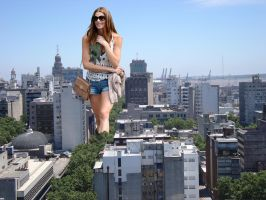 Ashley Greene in Montevideo by Accasbel
