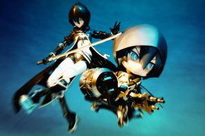 Black Rock Shooter -TV Animation ver.- by Etherien