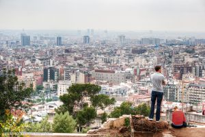 View of Barcelona by Robgrafix