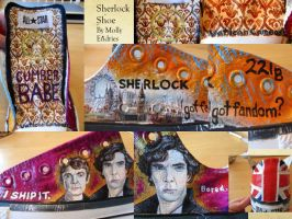 Sherlock Shoe by crystalcollecter