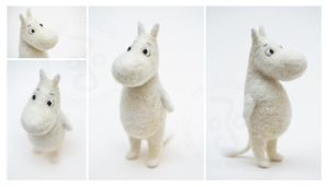 Moomin by ZimtBeadwork