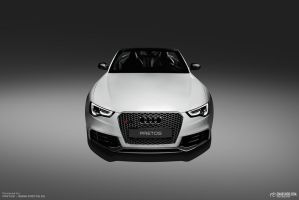 20131010 Audi Rs5 Pretos Studio Gmw 04 M by mystic-darkness