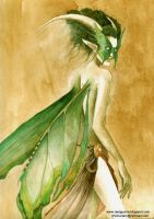 The Emerald Fairy by chicourano