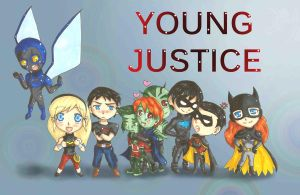 Young Justice Season 2 Team by Krissychan2
