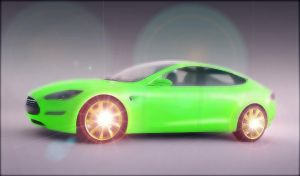 Car repaint and Render by miniarma
