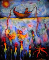 A Fishing Expedition by Liorart