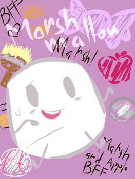 Inanimate Insanity - Marshmallow the Sweet Gal by 42Andre24