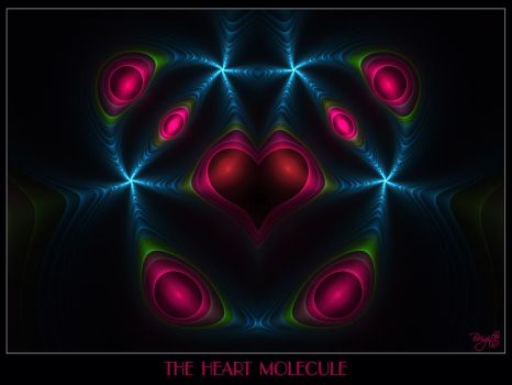 The Heart Molecule by Brigitte-Fredensborg