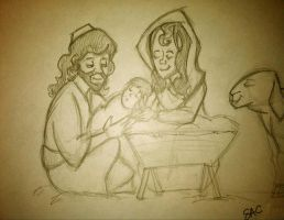 Birth of a King. by pascalscribbles