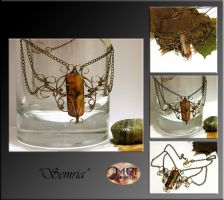Semria- wire wrapped necklace by mea00