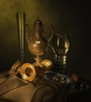 Dutch Still Life by southercomfort
