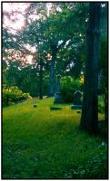Cemetery In the Woods by DimmedFaith