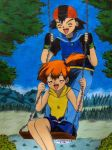 ++We have so much fun together++ by Ash-Misty-Pikachu