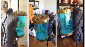 Flounders Tank 100% finished! by Zelda49