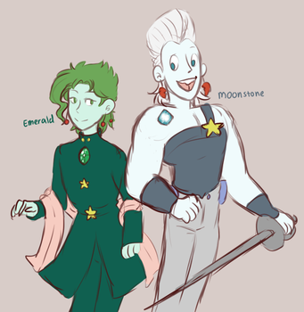what if jojos were gems by 1000butts