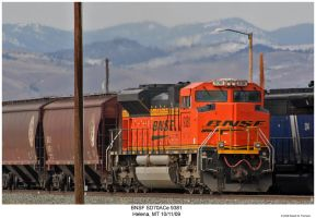 BNSF SD70ACe 9381 by hunter1828