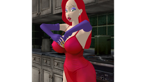 Jessica Rabbit: Searching for the key 2 by Hypnowalker