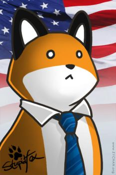 Vote StupidFox for 2012 by SilentReaper