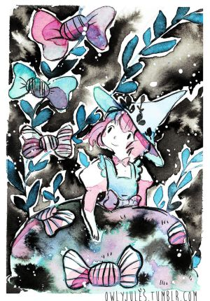 Inktober 2016 : day 12 by Owlyjules