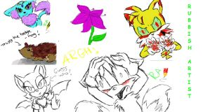 iscribble LOVE by Fantailed-Hedgehog