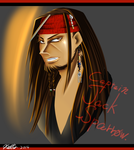 Captain Jack Sparrow. by Saradyn-A-E-Yuki
