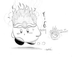 Fire Kirby by crazy4kirby