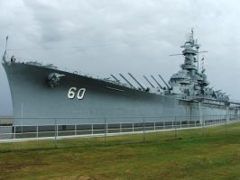 Battleship Alabama by BayofBangle