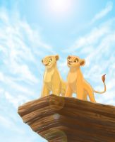 Royal Lionesses by WingsofaButterfly202