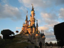 Disneyland Paris - Castle -9- by Maliciarosnoir-stock