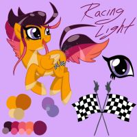Racing Light OC Reference by EmR0304