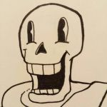Papyrus WIP by pastel-fart