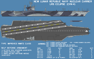 New Lunar Republic aircraft carrier  LRS Eclipse by lonewolf3878