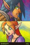 Blood Elves by MelDraws