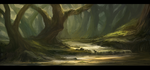 Forest Clearing 1 by hekatoncheir