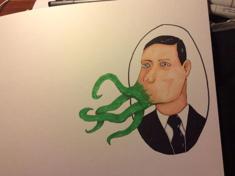 Wip Lovecraft by multieyedmyr