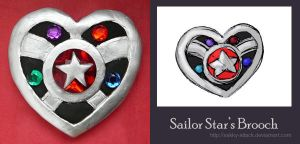 Sailor Star's Brooch by sakkysa
