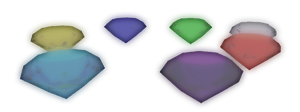 Chaos Emeralds by JaysonJean