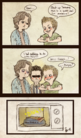 SPN - sorry we had no plates by surrenderdammit