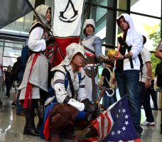 Assassin's Creed Cosplay at Gamescom 2013 Part II by DarkyMoony
